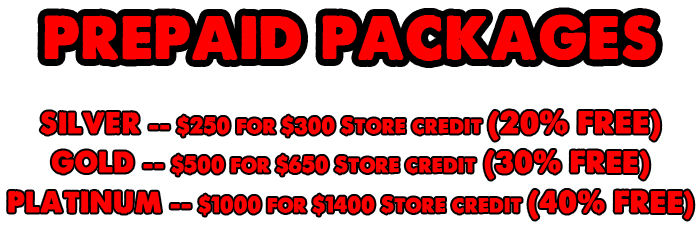 Prepaid Package home page